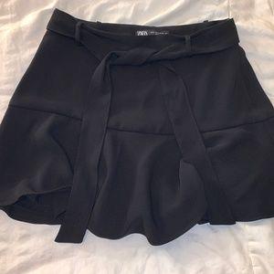 Women's Black Mini Skirt